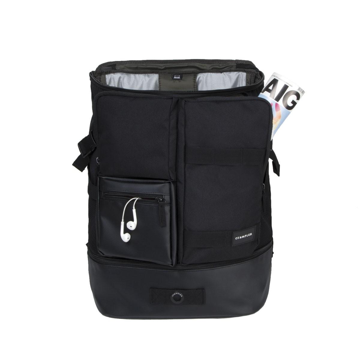 7b330a6e9b0 Kombinovaný batoh do města Crumpler Mighty Geek Backpack black ...