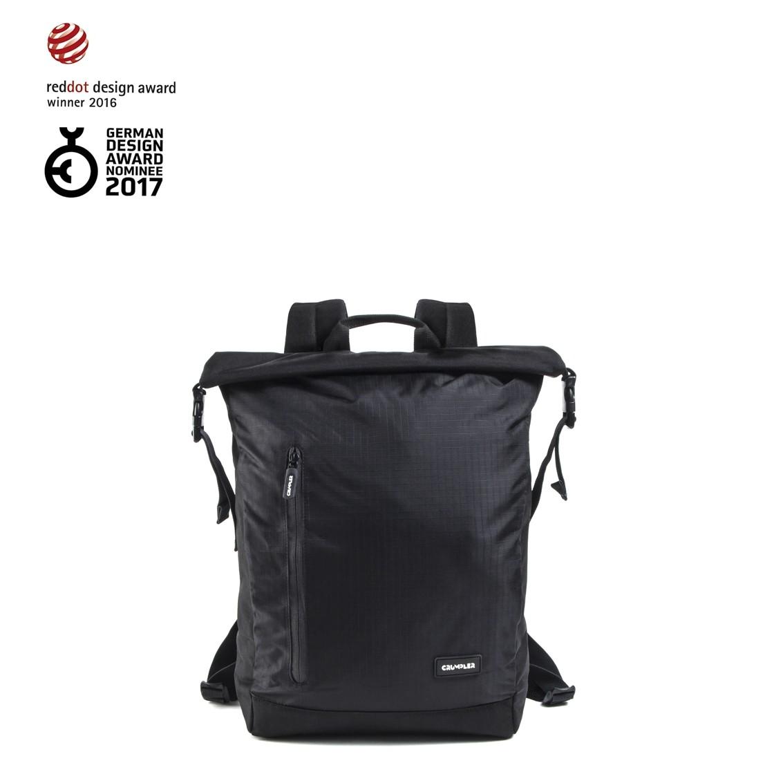 Menší rolovací batoh Crumpler Track Jack Day Backpack black  0fb30a3429
